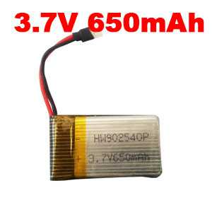 SYMA X5C Quadcopter Spare Parts: Battery 3.7V 650mAh