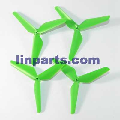 SYMA X5SW Quadcopter Spare Parts: Blades set(green)