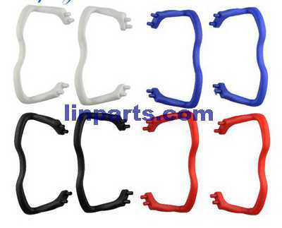 SYMA X5C Quadcopter Spare Parts: Support plastic bar (2 pcs set)Red, blue, black, white