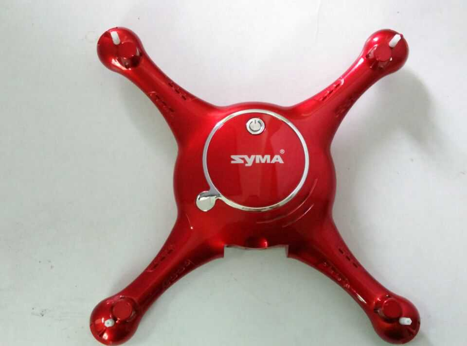 Syma X5UW RC Quadcopter Spare Parts: Upper Head set+Lower board [Red]