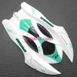 SYMA X7 RC Quad Copter Spare Parts:upper cover(White/green)