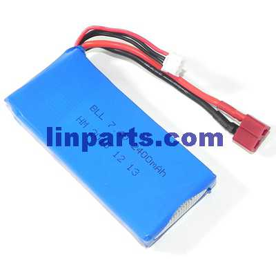 SYMA X8G Quadcopter Spare Parts: Battery 7.4V 2400mAh