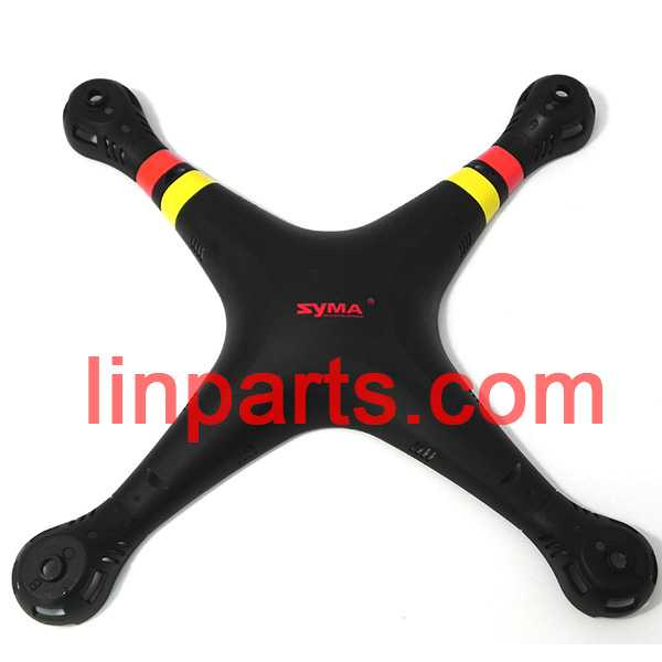 SYMA X8G Quadcopter Spare Parts: Upper Head set(Black)