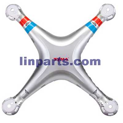 SYMA X8G Quadcopter Spare Parts: Upper Head set(Silver)