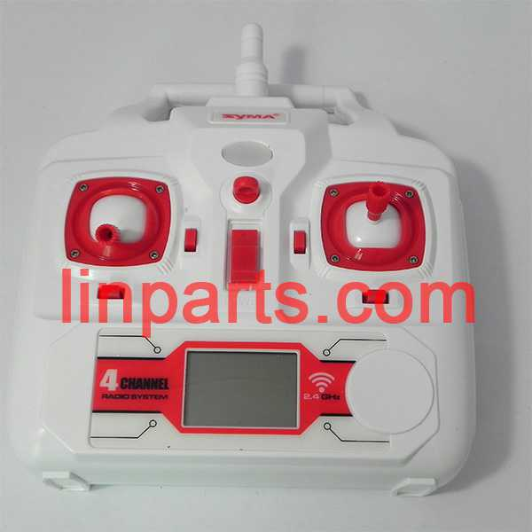 SYMA X8W Quadcopter Spare Parts: Remote Control/Transmitter(red)