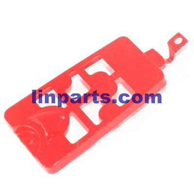 Syma X9 RC Quadcopter Spare Parts: Battery cover [Red]