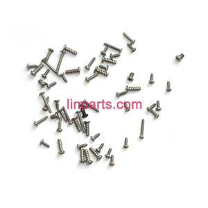 UDI RC Helicopter U16W Spare Parts: Screws pack set