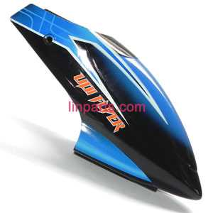 UDI RC Helicopter U16W Spare Parts: Head cover\Canopy(Blue)