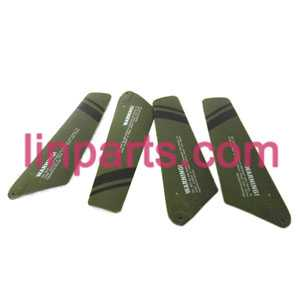 UDI RC Helicopter U801 U801A Spare Parts: main blades(Army green)
