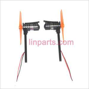 UDI RC U816 U816A Spare Parts: Positive + Reverse motor with Yellow blade