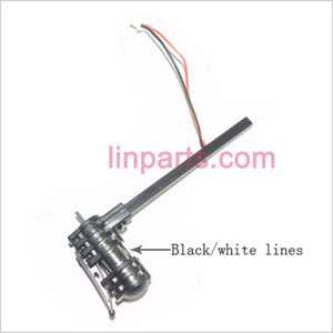UDI RC U816 U816A Spare Parts: Reverse motor parts(Black/ white line)