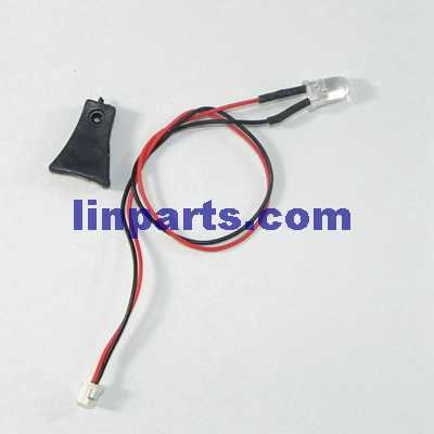 UDI U819A RC QuadCopter Spare Parts: LED light and fixed set