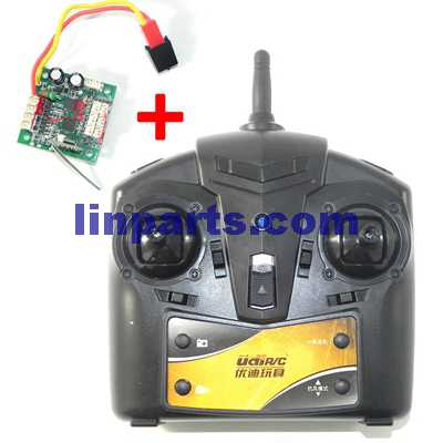 UDI U819A RC QuadCopter Spare Parts: Remote ControlTransmitter and PCBController Equipement