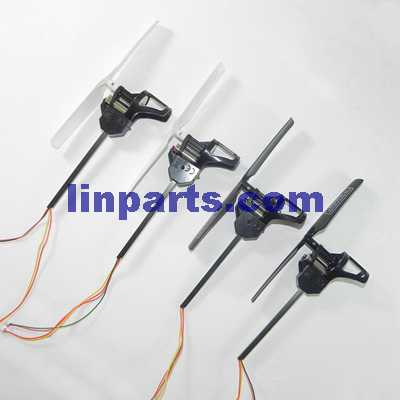 UDI U819A RC QuadCopter Spare Parts: 4pcs Side set(2pcs Forward + 2pcs Reverse)(short shaft)