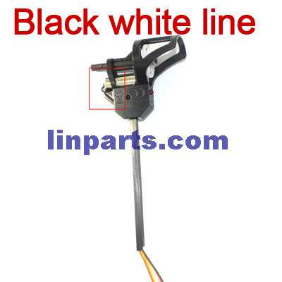 UDI U819A RC QuadCopter Spare Parts: 1pcs Side set[main motor of black and white lines](short shaft)