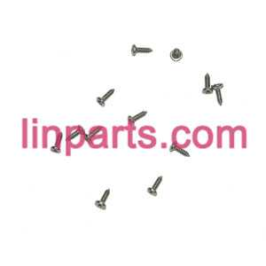 UDI RC QuadCopter Helicopter U830 Spare Parts: screws pack set