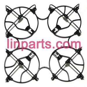 UDI RC QuadCopter Helicopter U830 Spare Parts: protection frame set for the gear set