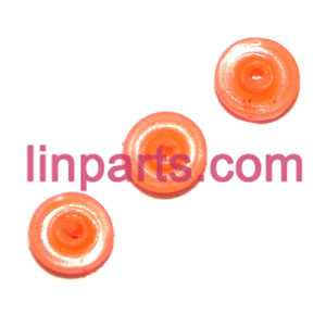 UDI RC QuadCopter Helicopter U830 Spare Parts: rubber on the pcb