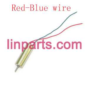 UDI RC QuadCopter Helicopter U830 Spare Parts: Main motor(Red/Blue wire)