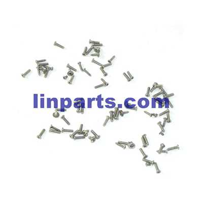 UDI Falcon U842 RC Quadcopter Spare Parts: Screws pack set