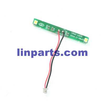 UDI Falcon U842 RC Quadcopter Spare Parts: Head LED light [for the Head cover]