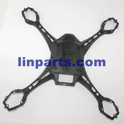 UDI Falcon U842 RC Quadcopter Spare Parts: lower cover[Black]