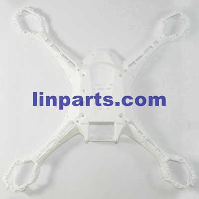 UDI Falcon U842 RC Quadcopter Spare Parts: lower cover[White]