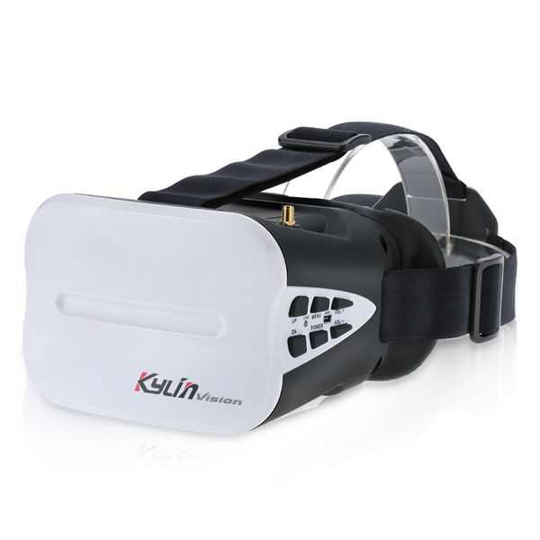 KDS Kylin Vision 64CH 5.8G Full Band FPV Goggles 5 Inch VR Headset with Battery