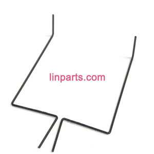 WLtoys WL F929 Glider Helicopter Spare Parts: aileron rudder steel wire
