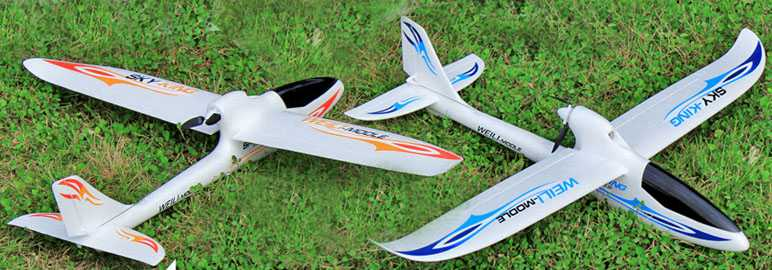 WLtoys F959 Sky King 2.4G 3CH 750mm Wingspan RC Airplane
