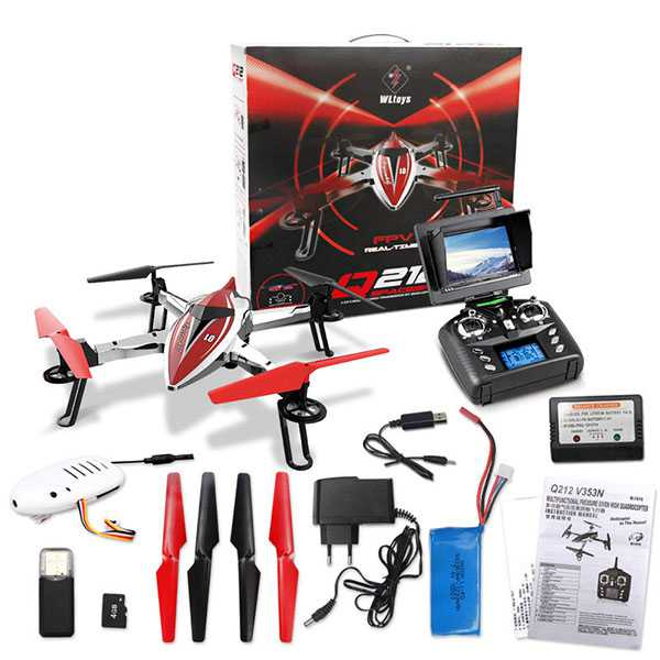 Wltoys Q212G Q212GN With 720P Camera FPV Air Pressure Set High Hovering RC Quadcopter RTF