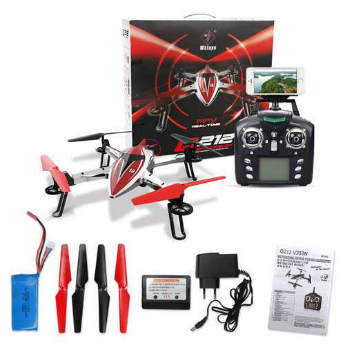 Wltoys Q212K Q212KN Air Pressure Set High Hovering WIFI RC Quadcopter RTF