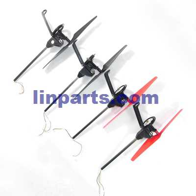 WLtoys WL Q212 Q212G Q212K Q212GN Q212KN RC Quadcopter Spare Parts: Side bar & motor set (2x Forward set + 2x Reverse set)
