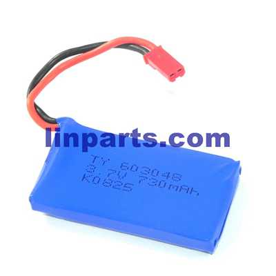 Wltoys DQ222 DQ222K DQ222G RC Quadcopter Spare Parts: Battery 3.7V 730mAh