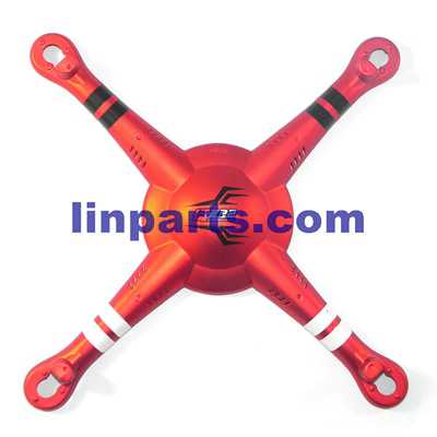 Wltoys DQ222 DQ222K DQ222G RC Quadcopter Spare Parts: Upper cover [Red]