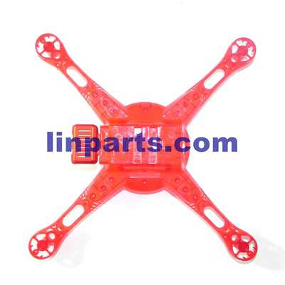 Wltoys DQ222 DQ222K DQ222G RC Quadcopter Spare Parts: Lower cover [Red]
