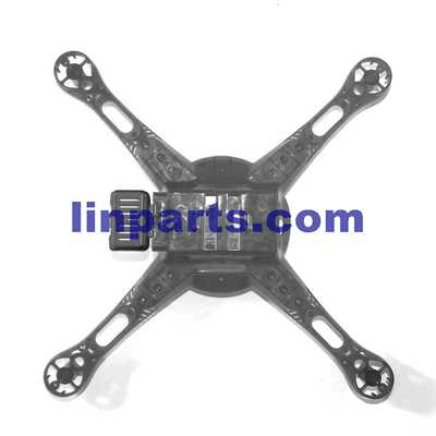 Wltoys DQ222 DQ222K DQ222G RC Quadcopter Spare Parts: Lower cover [Black]