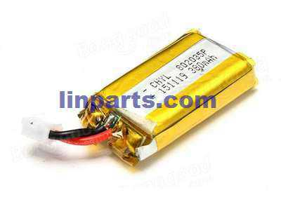 Wltoys Q242G RC Quadcopter Spare Parts: Battery(3.7V 400mAh)[for the Body Battery]