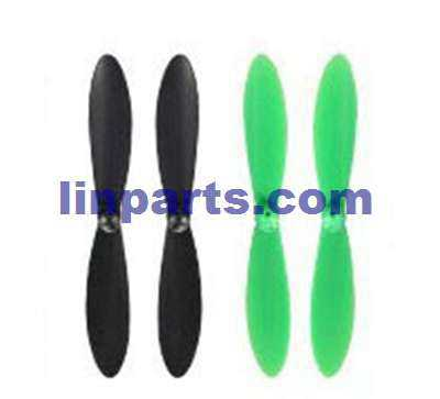 Wltoys Q242G RC Quadcopter Spare Parts: Main blades [Red + Green]