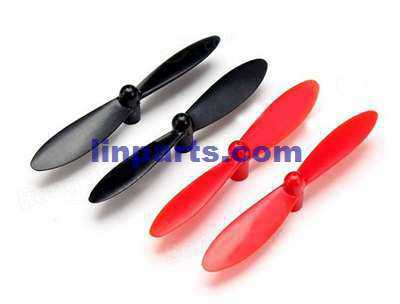 Wltoys Q242K RC Quadcopter Spare Parts: Main blades [Red + Black]