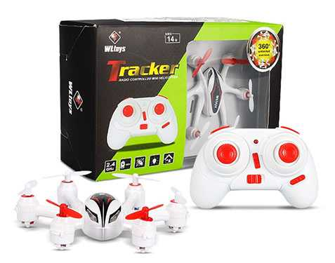 WLtoys Q272 2.4G 4CH 6 Axis Headless Mode Mini RC Hexacopter