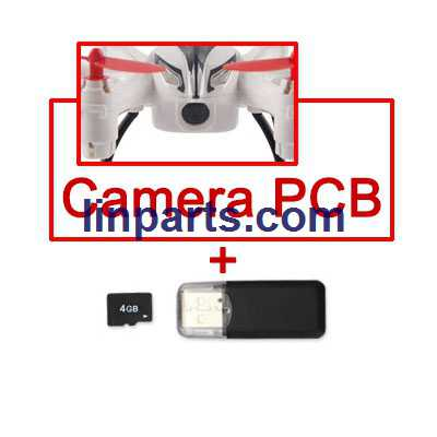 Wltoys WL Q282 Q282-G Q282-J RC Hexacopter Spare Parts: 720P HD Camera Camera PCB set + TF card