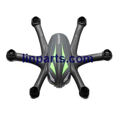 Wltoys WL Q282 Q282-G Q282-J RC Hexacopter Spare Parts: Upper Body Shell Cover [Blue + Black]