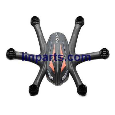 Wltoys WL Q282 Q282-G Q282-J RC Hexacopter Spare Parts: Upper Body Shell Cover [Red + Black]