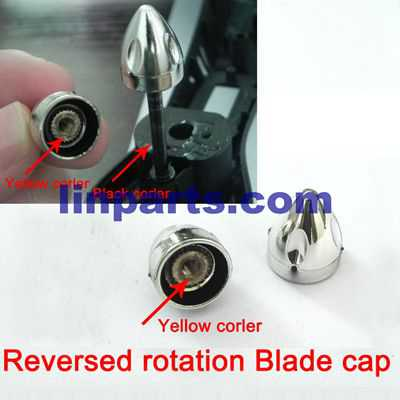WLtoys WL Q303 RC Quadcopter Spare Parts: Reversed rotation Blade cap