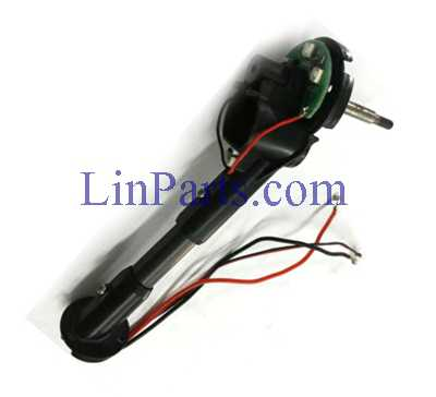 Wltoys Q353 RC Quadcopter Spare Parts: Front motor base [red black line] left component