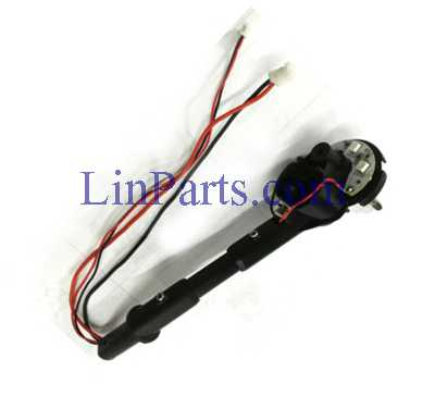 Wltoys Q353 RC Quadcopter Spare Parts: Rear motor base [red black line] right component