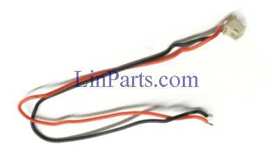 Wltoys Q696 Q696A Q696C Q696E RC Quadcopter Spare Parts: Front motor cable with socket assembly