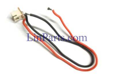Wltoys Q696 Q696A Q696C Q696E RC Quadcopter Spare Parts: Rear motor cable with socket assembly