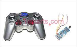 WLtoys WL S929 Spare Parts: Remote Control\Transmitter+PCB\Controller Equipement